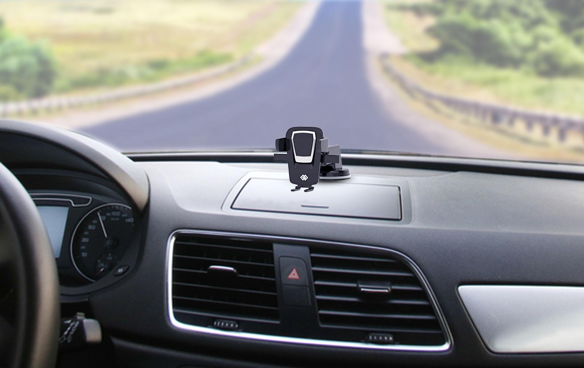 Sticky gel pad mobile holder