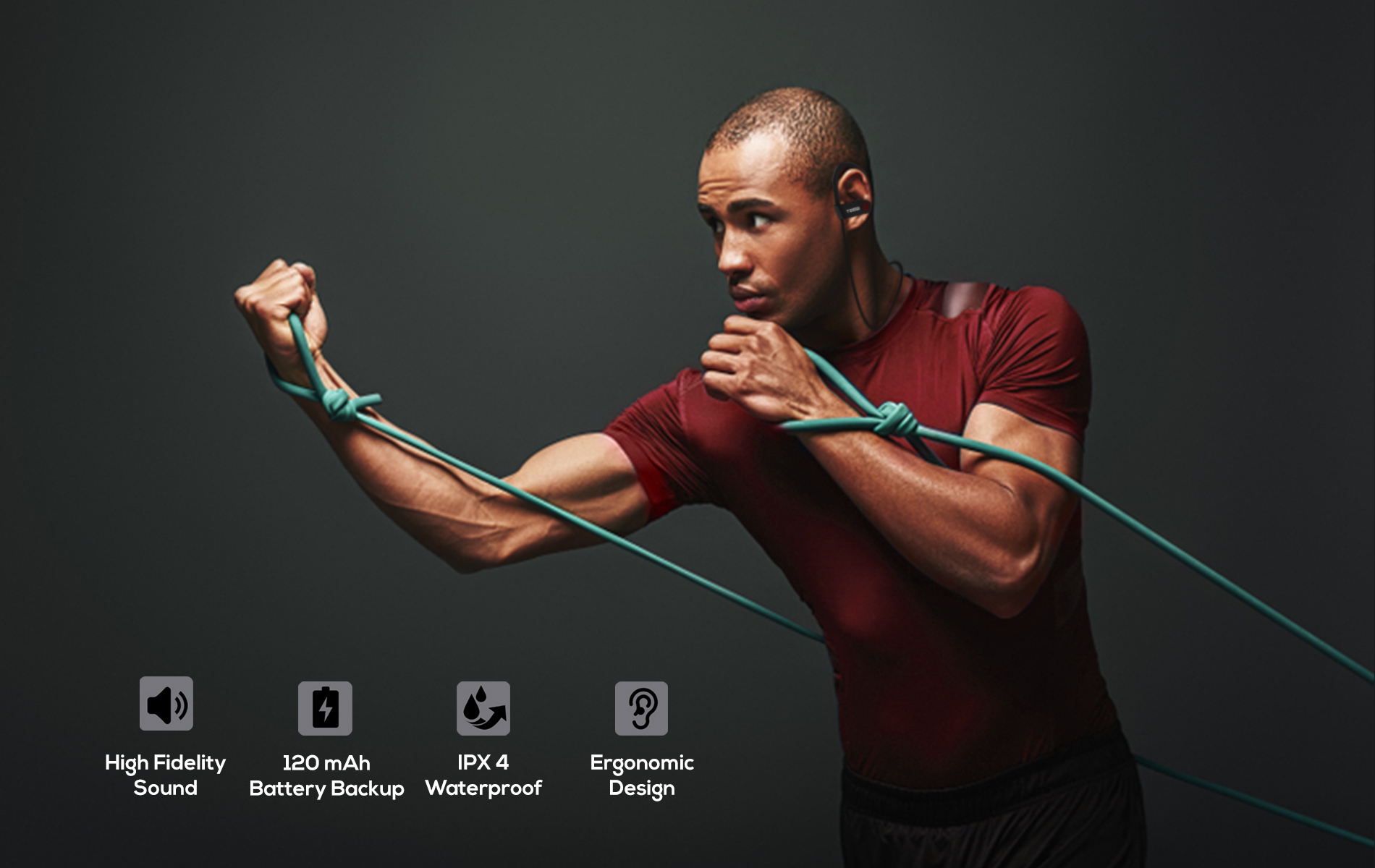 Best Wireless Bluetooth Earphone with Mic for Sports & Fitness Let The Rythm Run Wild