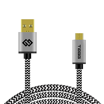 Powerline Micro USB 6.6ft Braided Cable