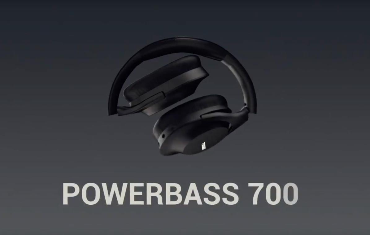 Bluetooth headphones with volume control
