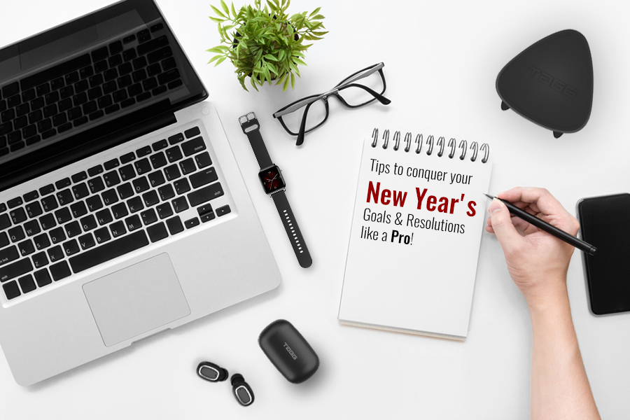 Tips to conquer your New Year's Goals & Resolutions like a Pro!