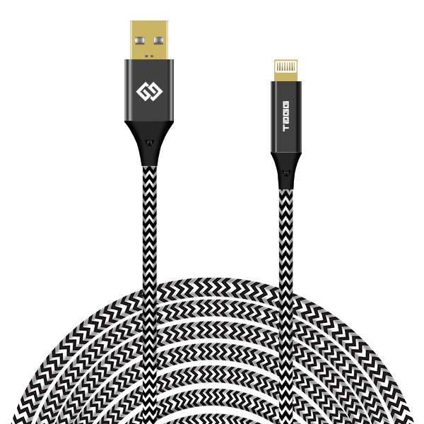 Nylon Braided Lightning USB Cable