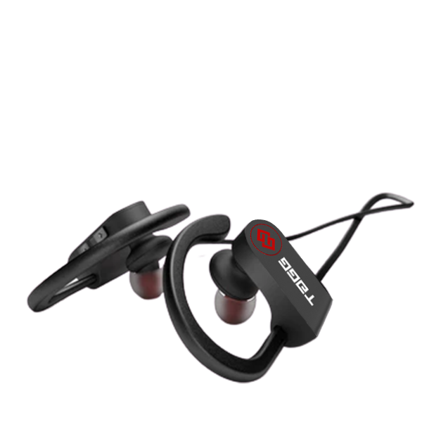 Portable Bluetooth earphones with mic